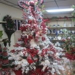 Decorated Gift Shop Christmas Tree