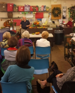 Winston Salem Garden Club Meeting